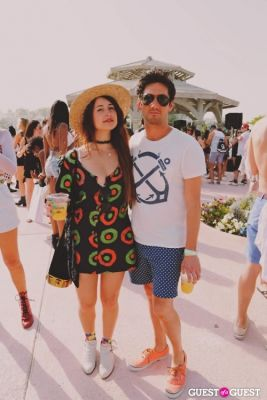 hayley kuniansky in Coachella: LACOSTE Desert Pool Party 2014