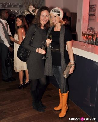 anna kimball in Veuve Clicquot celebrates Clicquot in the Snow