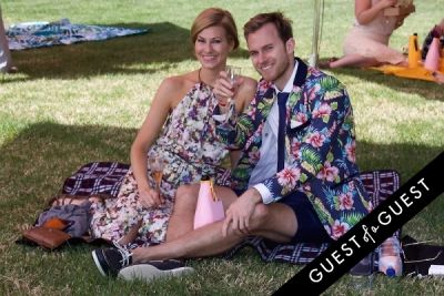 heather sarah-white in The Sixth Annual Veuve Clicquot Polo Classic
