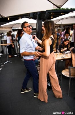 hector longoria in Sunset Brunch Club at STK Rooftop