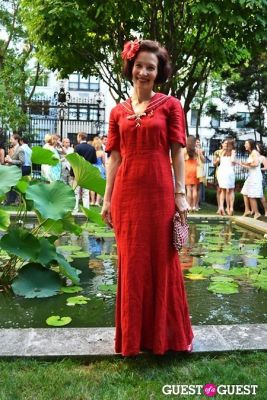 heidi rosenau in The Frick Collection's Summer Soiree