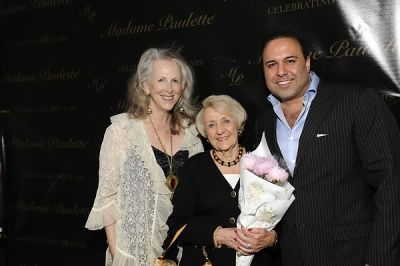 helen uffner in Madame Paulette's 50th Anniversary Party