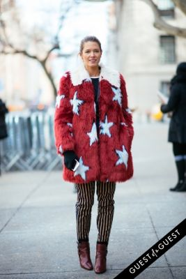 helena bordon in NYFW Street Style Day 5