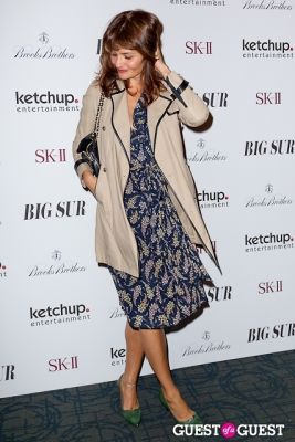 helena christensen in BIG SUR New York Movie Premiere
