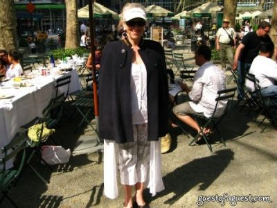 helene uffner in Belgium Brunch in Bryant Park
