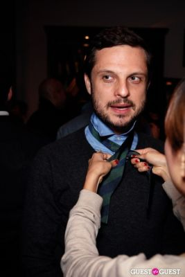 helio campos in Onassis Clothing and Refinery29 Gent's Night Out