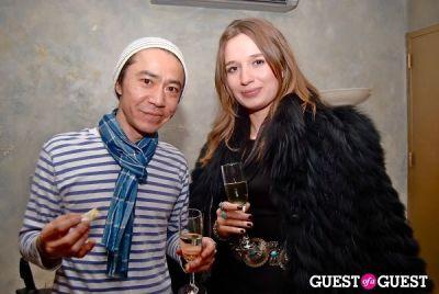 hideya segawa in Ashley Turen's Holiday Fashion Fete