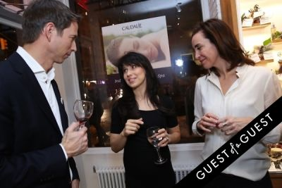 mathild thomas in Caudalie Premier Cru Evening with EyeSwoon