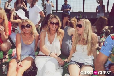 kaeli kesterson in FILTER x Burton LA Flagship Store Rooftop Pool Party With White Arrows