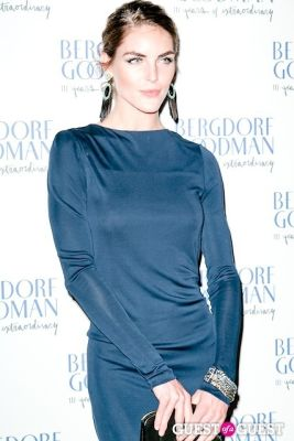 hilary rhoda in Bergdorf Goodman celebrates it's 111th Anniversary at the Plaza