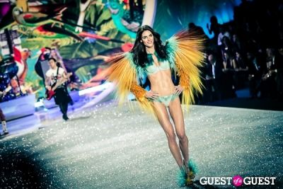 hilary rhoda in Victoria's Secret Fashion Show 2013