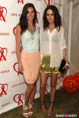 hilary rhoda in 20th Anniversary of Love Heals At Luna Farm