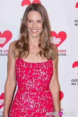 hilary swank in God's Love We Deliver 2013 Golden Heart Awards