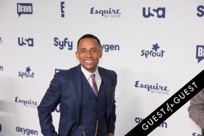 hill harper in NBCUniversal Cable Entertainment Upfront