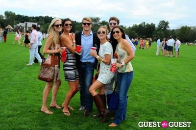 gabriela gutowski in The 27th Annual Harriman Cup Polo Match