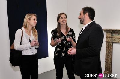 hillary smith in Retrospect exhibition opening at Charles Bank Gallery