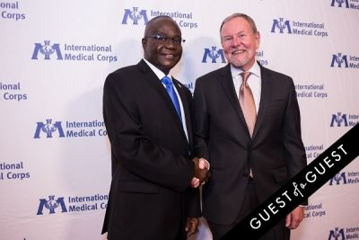 ray baxter in International Medical Corps Gala