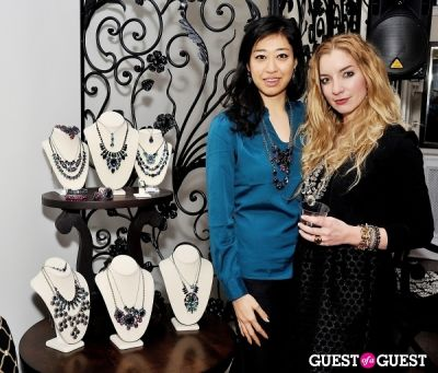 holene choi in Sorrelli Montclair Store Opening