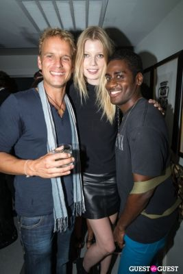derek in H&M and Vogue Between the Shows Party