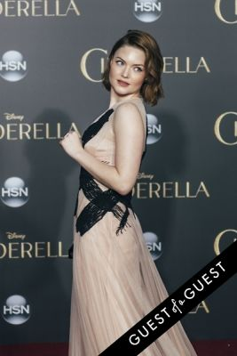 holliday grainger in Premiere of Disney's