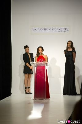 hope reiners in L.A. Fashion Weekend Awards