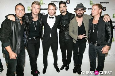 howie dorough in Tyler Shields and The Backstreet Boys present In A World Like This Opening Exhibition