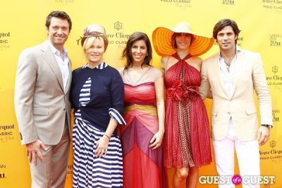 delfina blaquier in Veuve Clicquot Polo Classic at New York