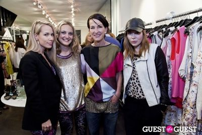 hunter bell in The Well Coiffed Closet and Cynthia Rowley Spring Styling Event