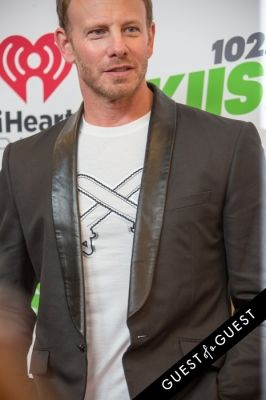 ian ziering in KIIS FM's Jingle Ball 2014