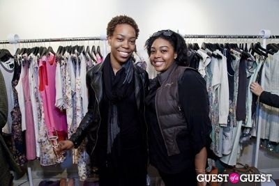 donna jones in The Well Coiffed Closet and Cynthia Rowley Spring Styling Event