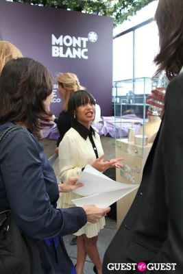 iesha reed in Montblanc Press Preview