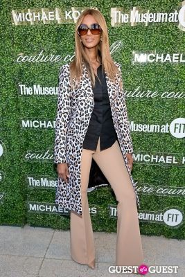 iman in Michael Kors 2013 Couture Council Awards