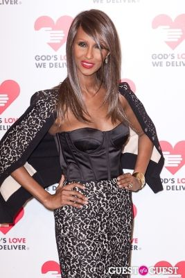 iman in God's Love We Deliver 2013 Golden Heart Awards