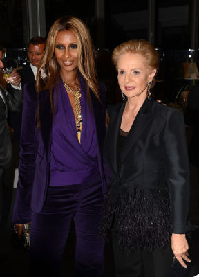 iman in Last Night's Parties: From Brian Atwood, To Proenza Schouler, Fashion Week Has Officially Hit NYC 9/6/2012