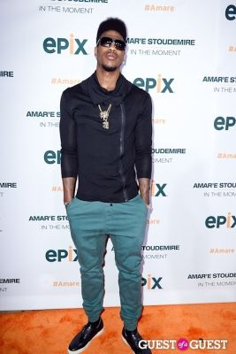 iman shumpert in Amar'e Stoudemire In The Moment Premiere