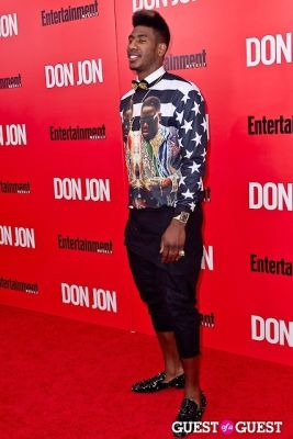 iman shumpert in Don Jon Premiere