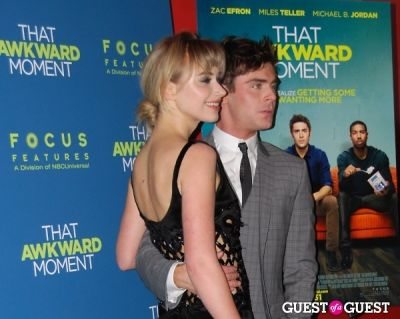 imogen poots in That Awkward Moment Premiere