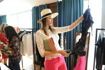 ines rivero in ShopBAZAAR VIP Brunch at Soho Beach House