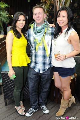 sandy yap in Everyday People Brunch at The DL Rooftop celebrating Chef Roble's Birthday