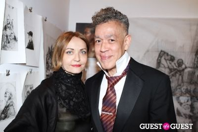 andres serrano in New York Academy of Art's 2013 Tribeca Ball
