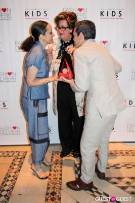 margaret hayes-and-ruben-toledo in K.I.D.S. & Fashion Delivers Luncheon 2013