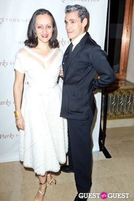 isabel and-ruben-toledo in The Gordon Parks Foundation Awards Dinner and Auction 2013