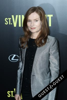 isabelle huppert in St. Vincents Premiere