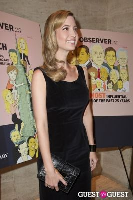 ivanka trump in The New York Observer 25th Anniversary