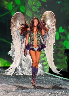 izabel goulart in Victorias Secret Fashion Show