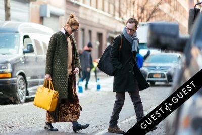 j.j. martin in NYFW Street Style Day 6