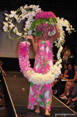 jakenna in Tulips & Pansies  Headdress the Affair
