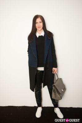 jaclyn cobourn in NYC Fashion Week FW 14 Street Style Day 1