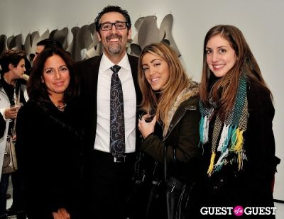 "john paul-carmona in Ricardo Rendon ""Open Works"" exhibition opening"