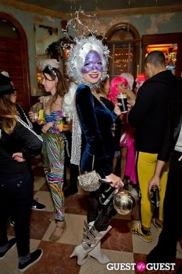 jada lubormirski in Mara Hoffman & Pamela Love celebrate Halloween